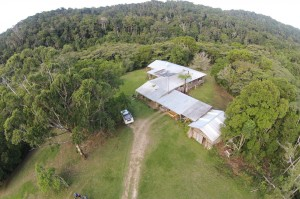 Homestead from drone